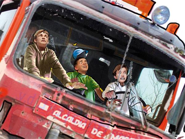 freerunners-in-vuilniswagen