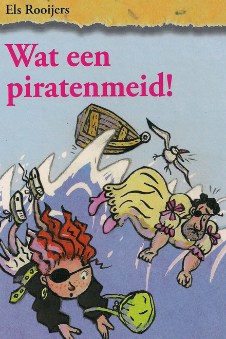 Wat een piratenmeid