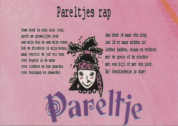 pareltjes-rap